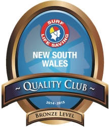 New South Wales Quality Club Award for 2014-2015